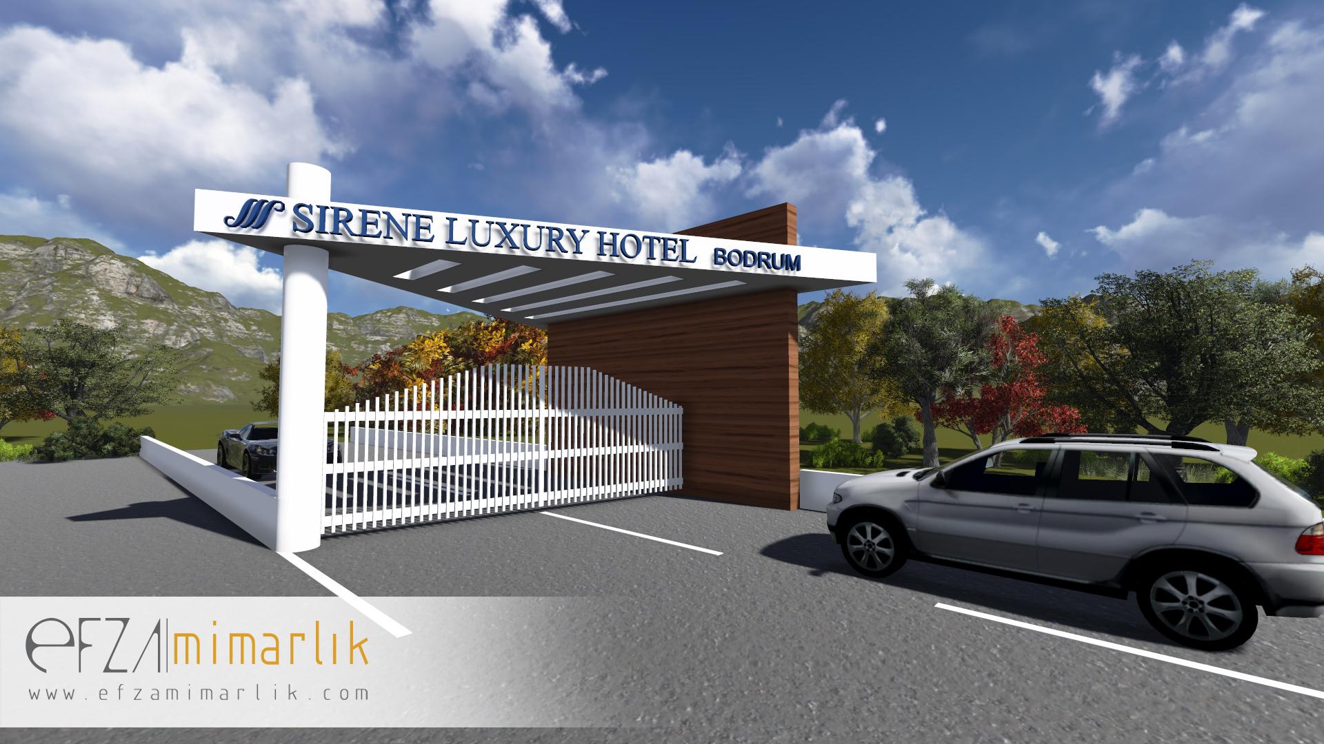 Sirene Luxury Hotel Giriş Takı (Öneri)-Bodrum